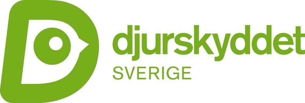 Djurskyddet Sveriges logotyp i grönt (RGB).