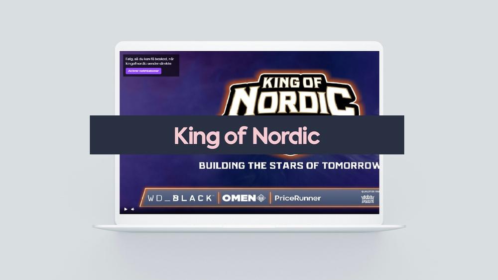 PriceRunner i samarbete med King of Nordic