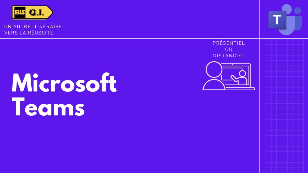 Représentation de la formation : Microsoft Teams