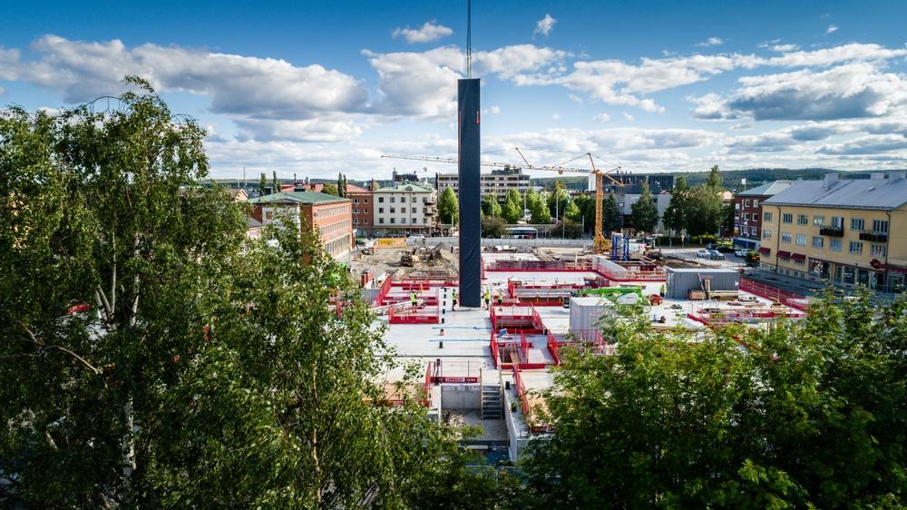 Trästomme Skellefteå kulturhus