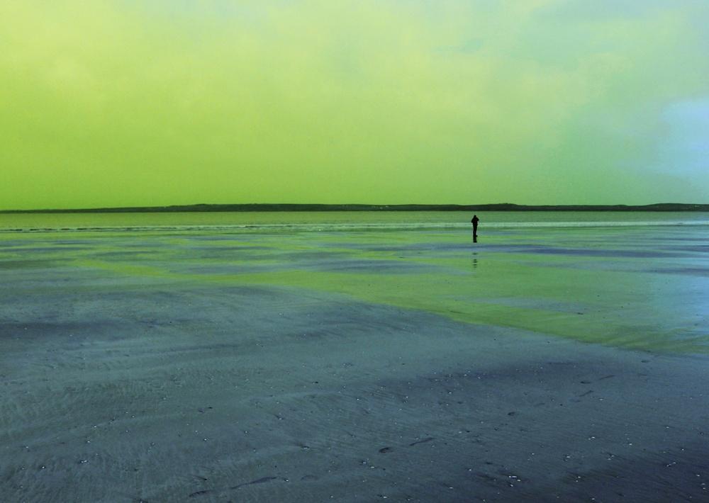 Årets Westfalenstipendiat Marlena Gundlach (f.1994) presenterar utställningen Curiosity Landscapes of What Remains, som delvis har skapats under hennes stipendievistelse på Gotland. Foto: Pressbild