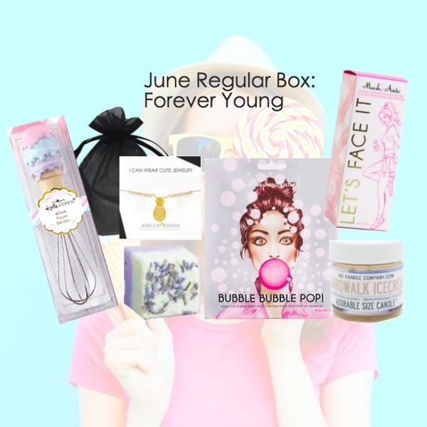 June 2018 - Forever Young Themed Box