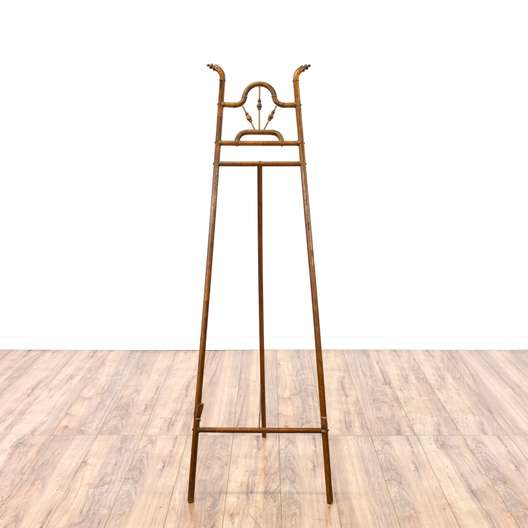 Carved Solid Wood Art Easel