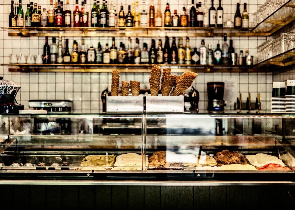 Glass från Taverna Brillo Fotograf Niklas Alexandersson