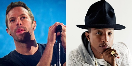 Coldplay announces collaboration with Pharrell under a new name, Los Unidades
