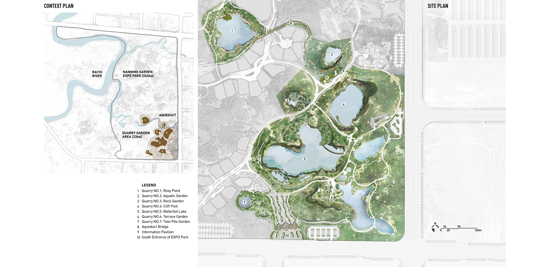 Context Plan and Site Plan