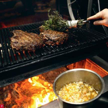 Beef rib baste