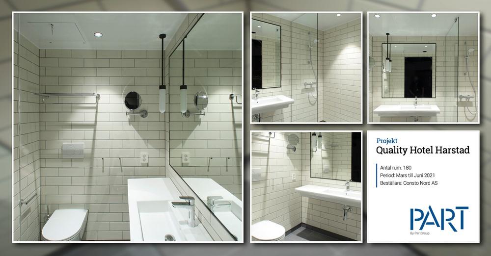 Quality Hotel Harstad referensbadrum