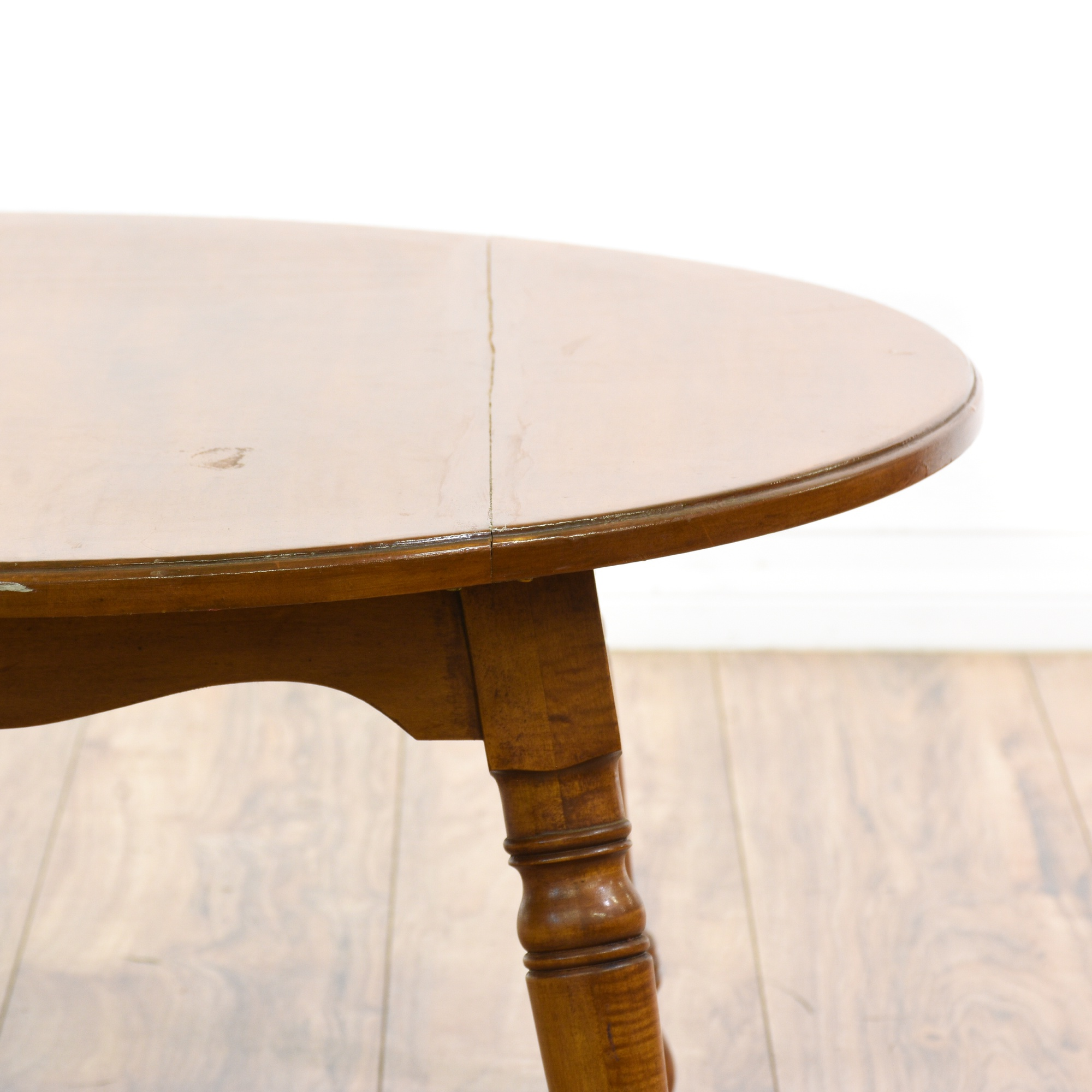 "Pennsylvania House"" Round Maple Coffee Table"