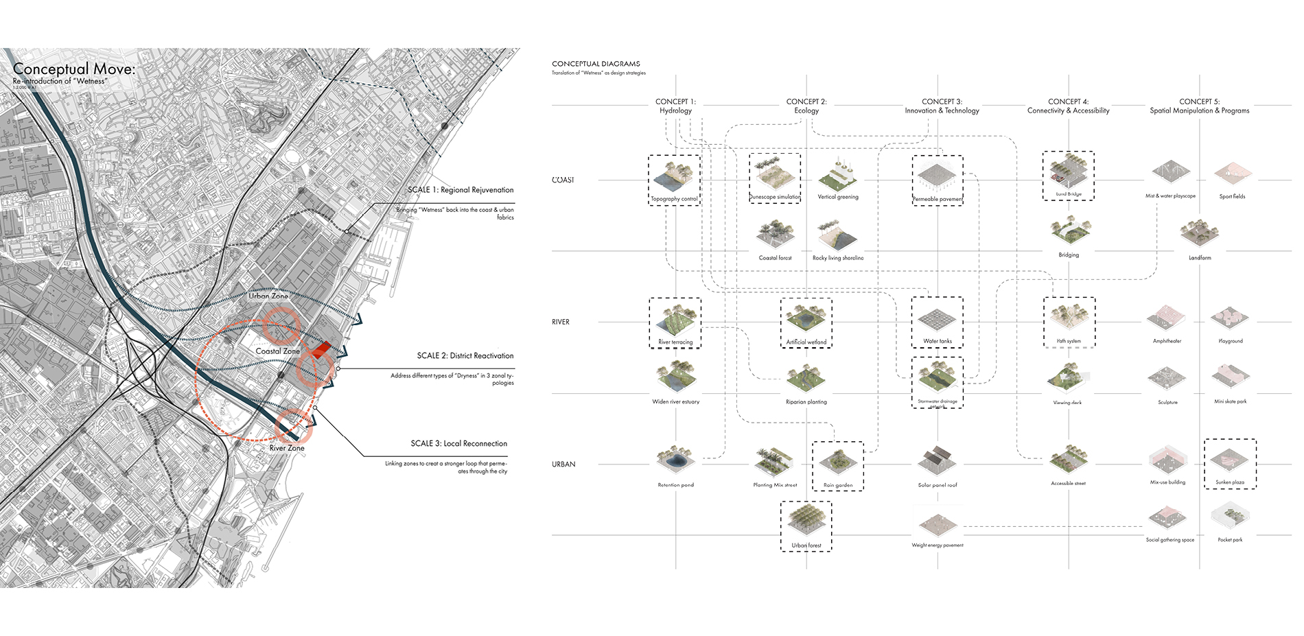 Conceptual Move and Zonal Typologies