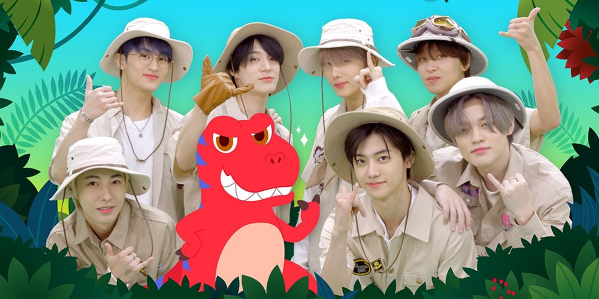 NCT DREAM partners with Pinkfong for kids song 'Dinosaur A to Z' – watch