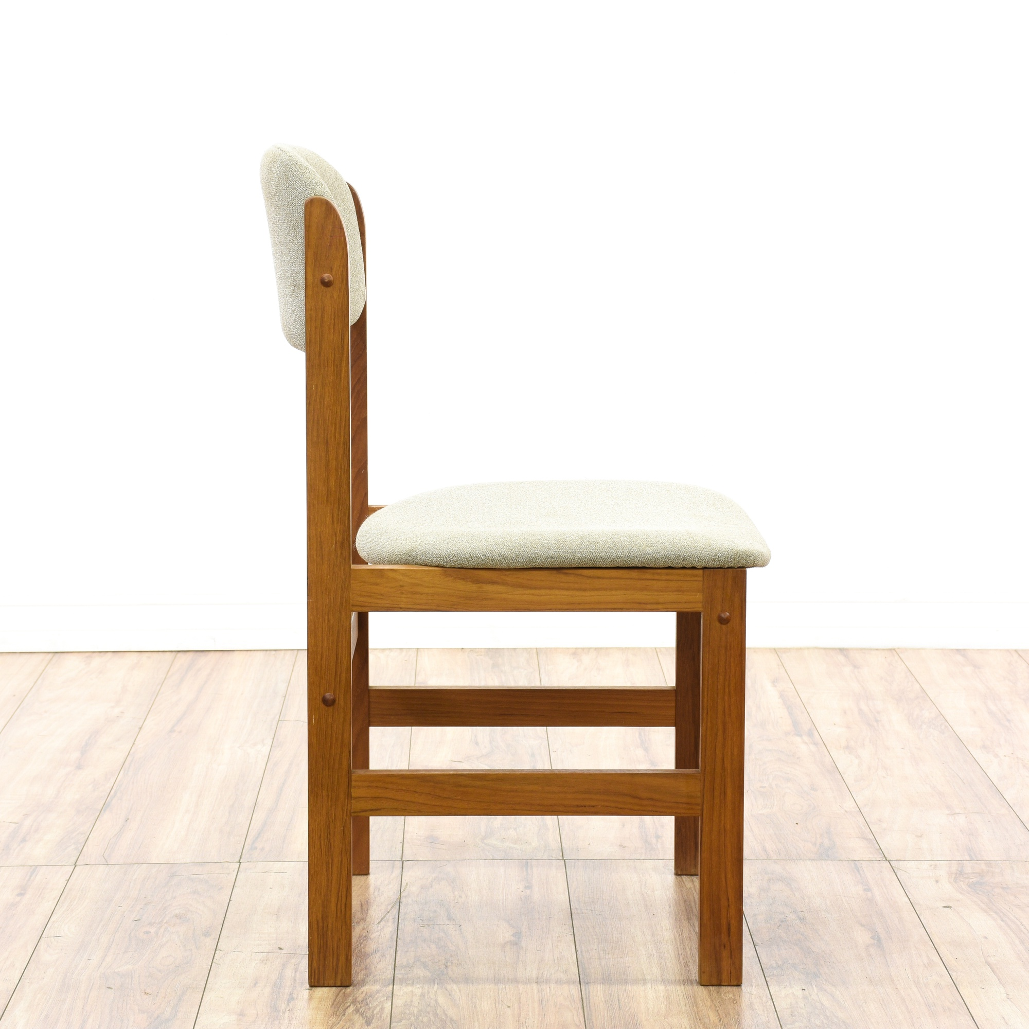 Pair of danish modern chairs loveseat vintage furniture for Danish modern la