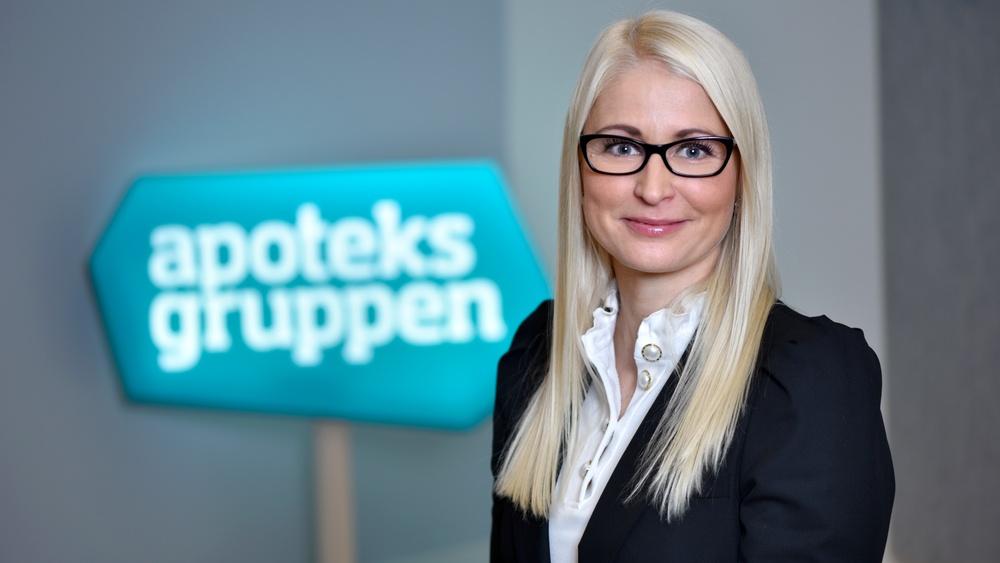 Anna Bergstedt, Marketing & Communications Director och Head of E-com/Click & Collect.