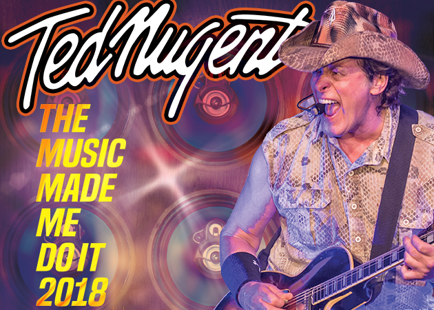 CVAH- Ted Nugent, July 14, 2018, gates 5:30pm