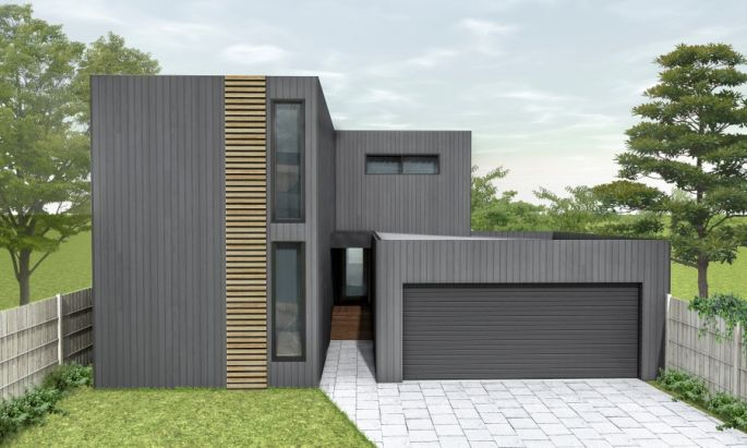 Stylish Modern Modular home design by Anchor Homes