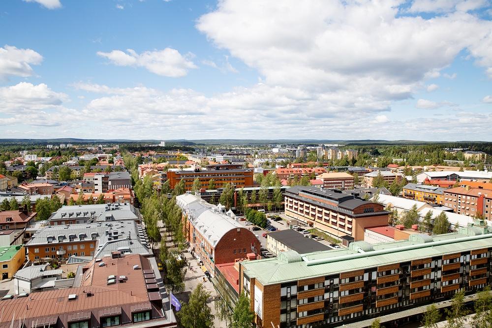 Glitne, kvarteret Forsete, Umeå.