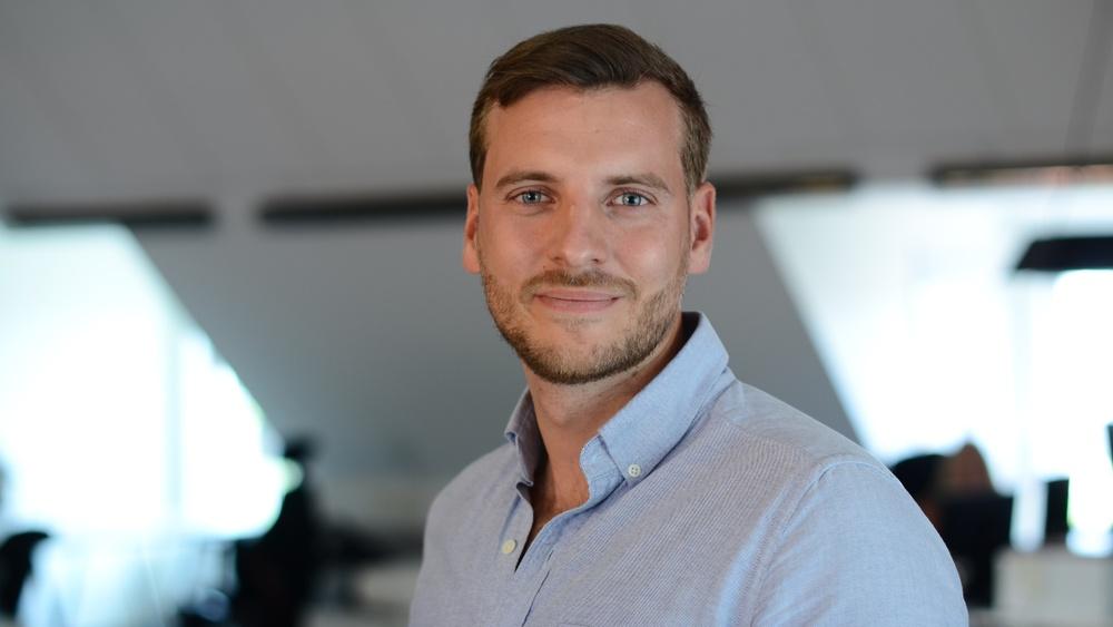 Entreprenören Rasmus Palazzis idé utsågs under morgonen till en av de 20 bästa i årets upplaga av Venture Cup IDEA.