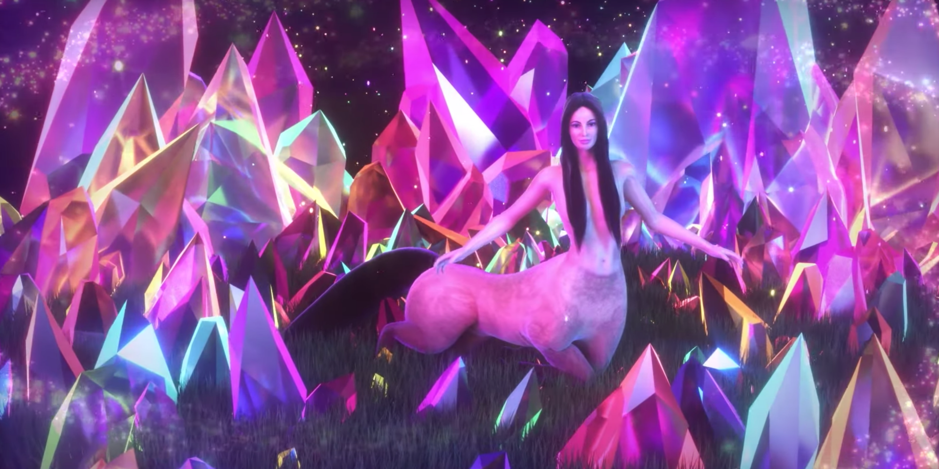 Kacey Musgraves is a beautiful centaur in trippy new music video for 'Oh, What A World' – watch