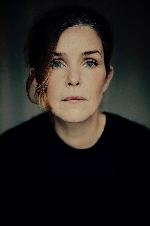 Rebecka Törnkvist medverkar i en diasert under Live at Heart 2019