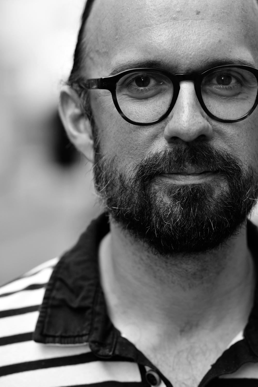 Klas Ekman, förläggande redaktör Volante.