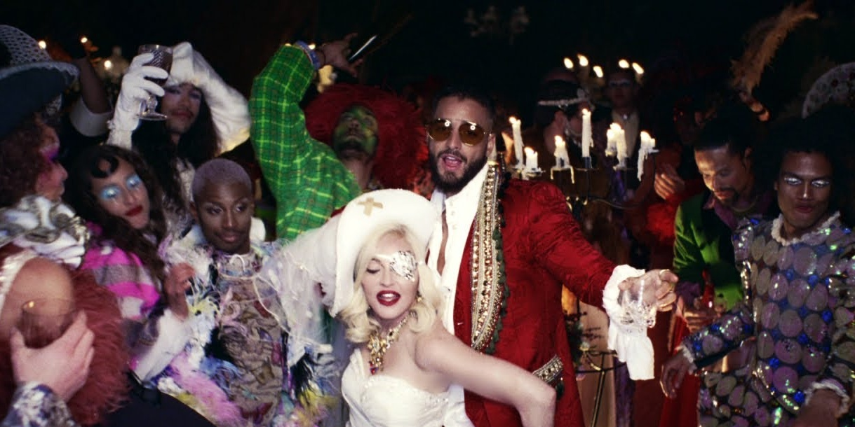 Madonna releases lavish 'Medellín' music video featuring Maluma – watch