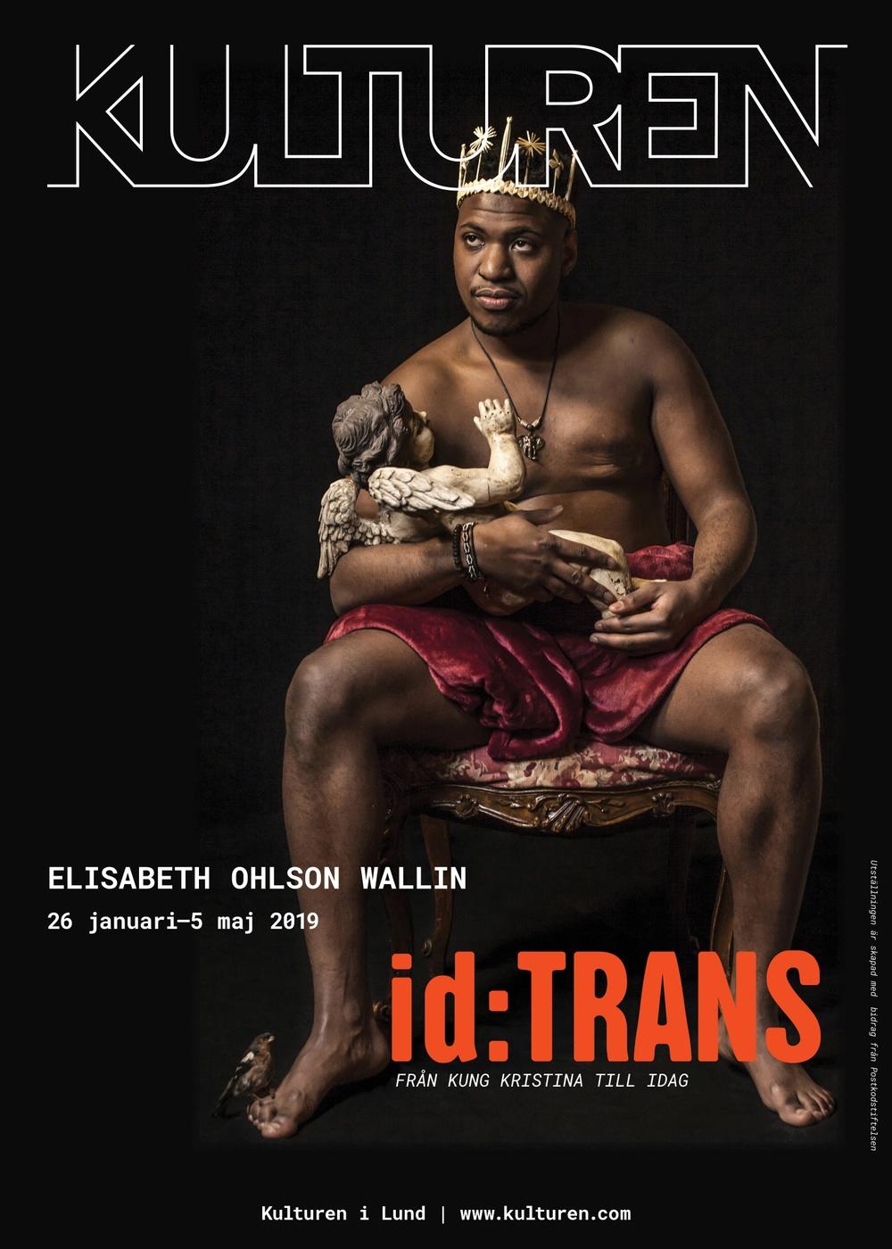 Kulturen i Lunds affisch för utställningen id:TRANS
