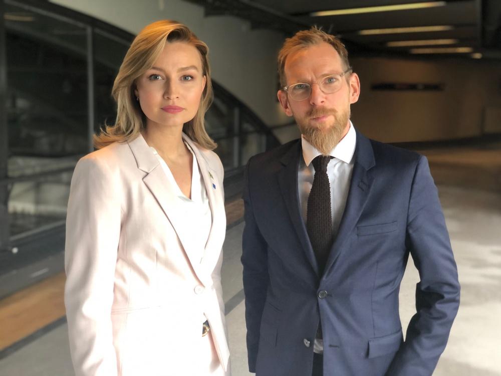 Ebba Busch och Jakob Forssmed.