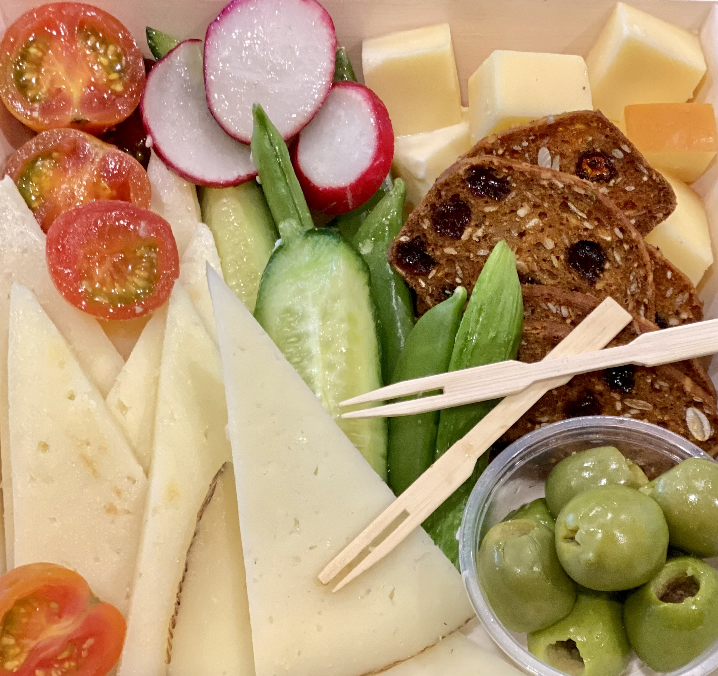 Cheese Please! (& Veggies)