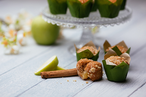 Central Foods' apple and cinnamon mini muffins