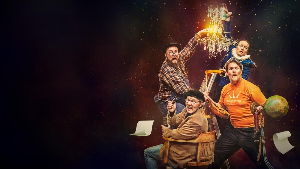 Teaterspektaklet, Västerbottensteatern hösten 2020. Bild: LisaLove Bäckman