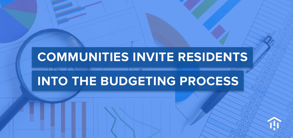 Communities invite residents into the budgeting process