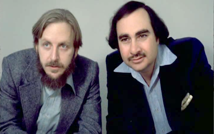 Dan O'Bannon (left) and Ronal Shusett (right) circa 1979