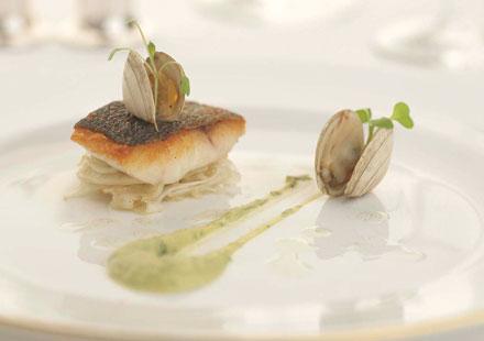 Glenapp Castle fish dish