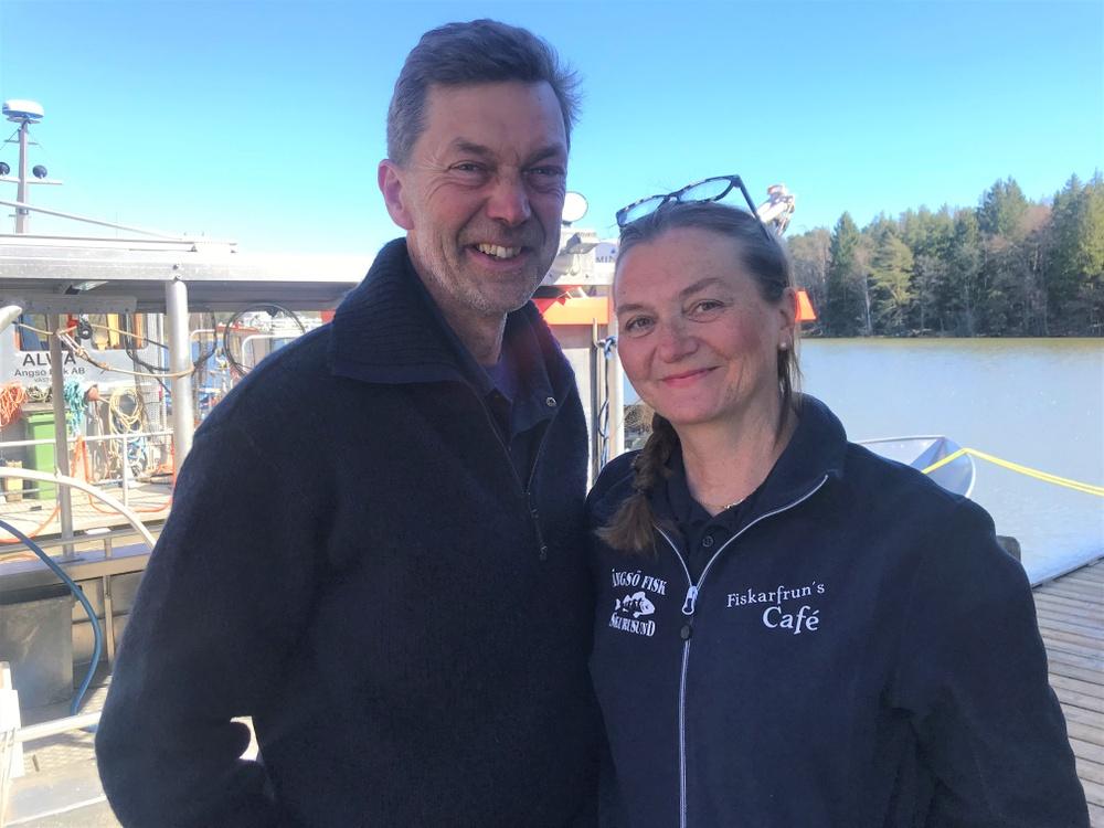 Ängsö Fisk - Per och Pauline Vidlund. Foto: Wictor Vidlund