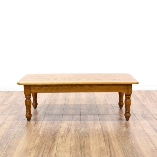 Mid Century Carved Coffee Table
