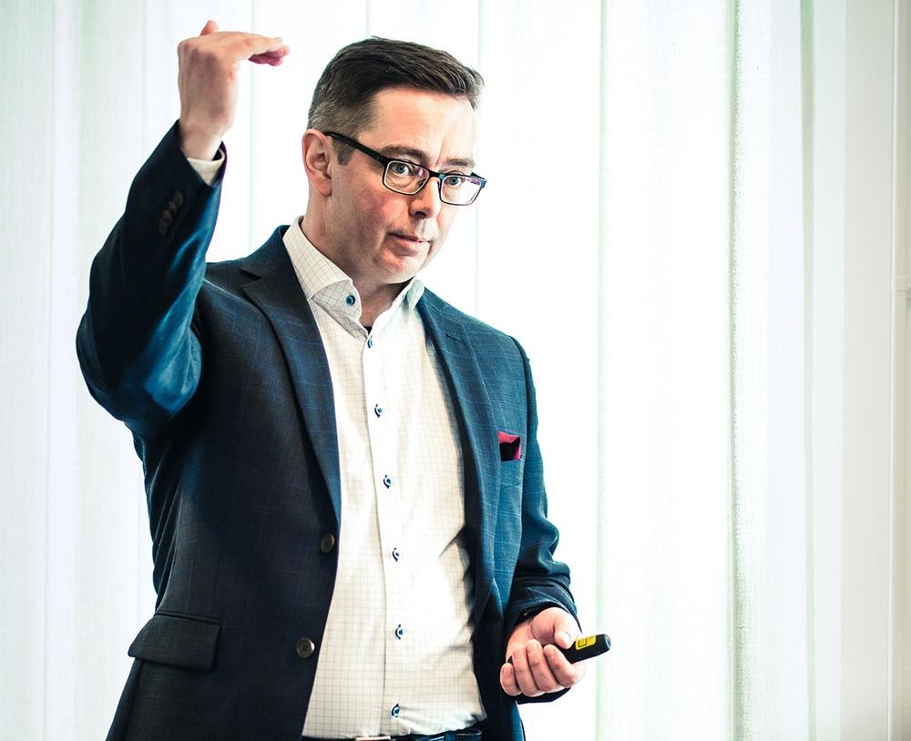Fredrik Persson, vd BDX Företagen. Foto: Patrik Öhman