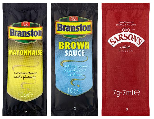 Branston and Sarston's sachets