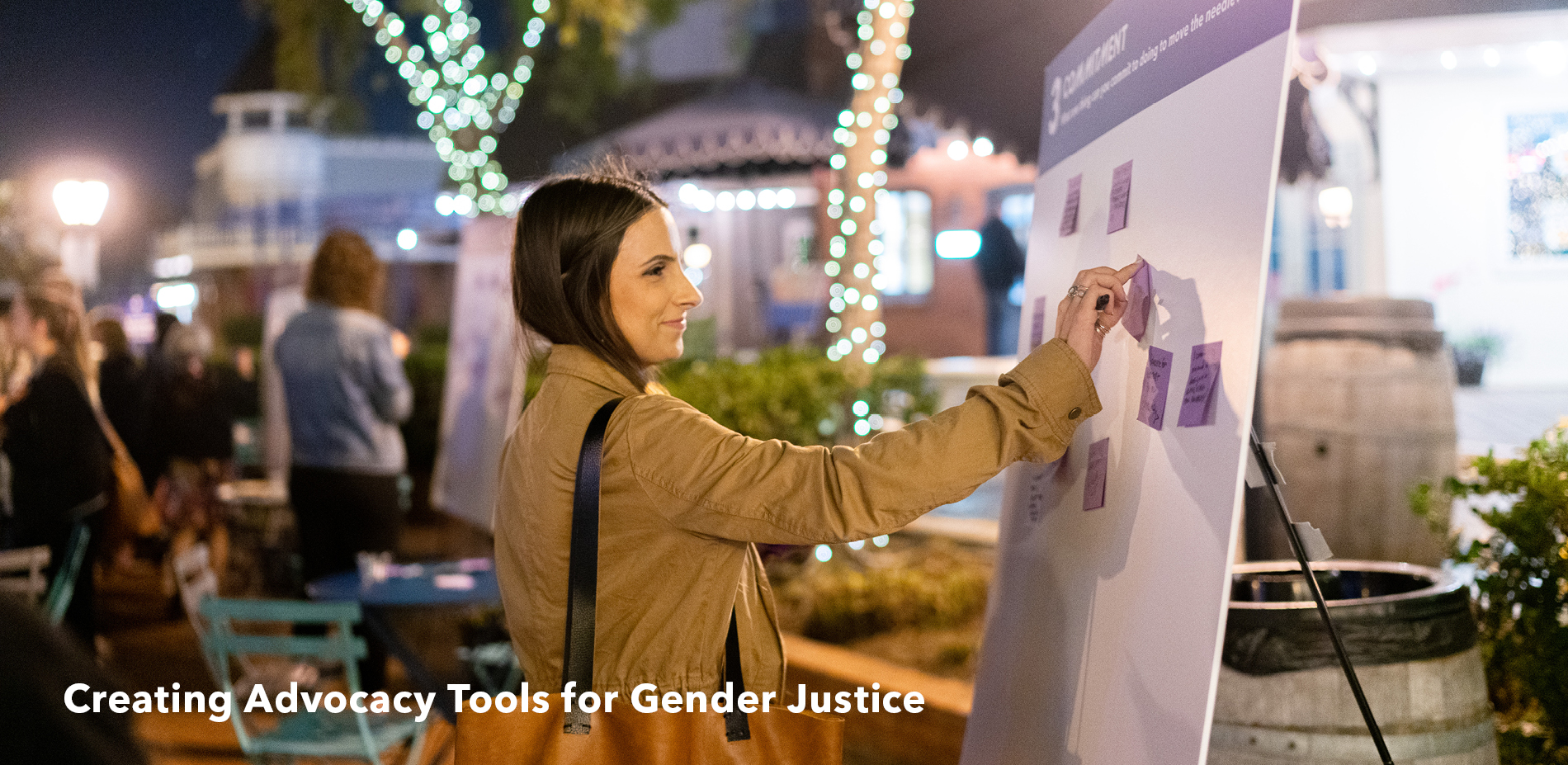 Creating Advocacy Tools for Gender Justice