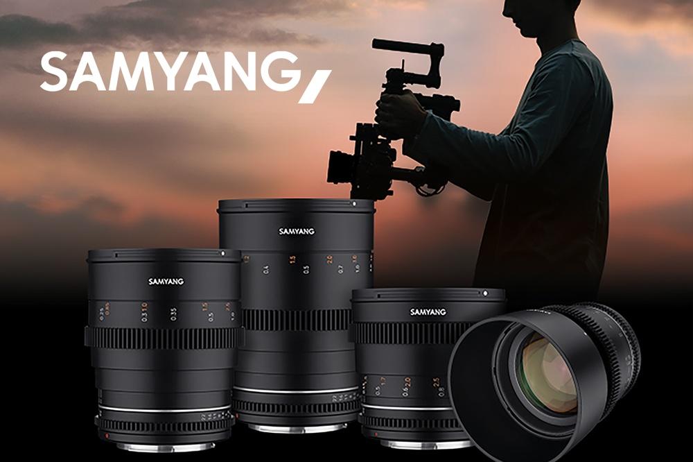 Samyang atnaujino filmavimui skirtų objektyvų seriją