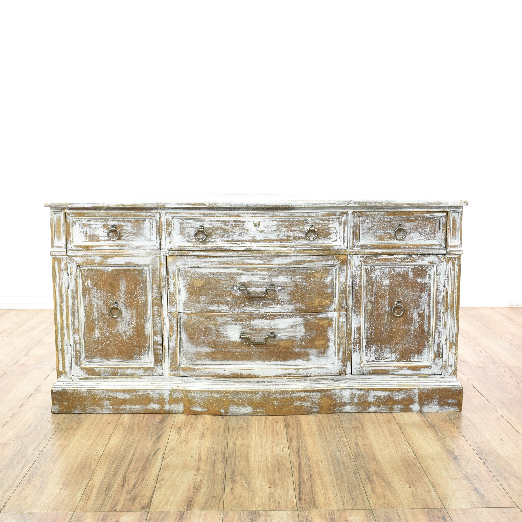 shabby chic whitewashed buffet sideboard loveseat vintage furniture san diego los angeles. Black Bedroom Furniture Sets. Home Design Ideas