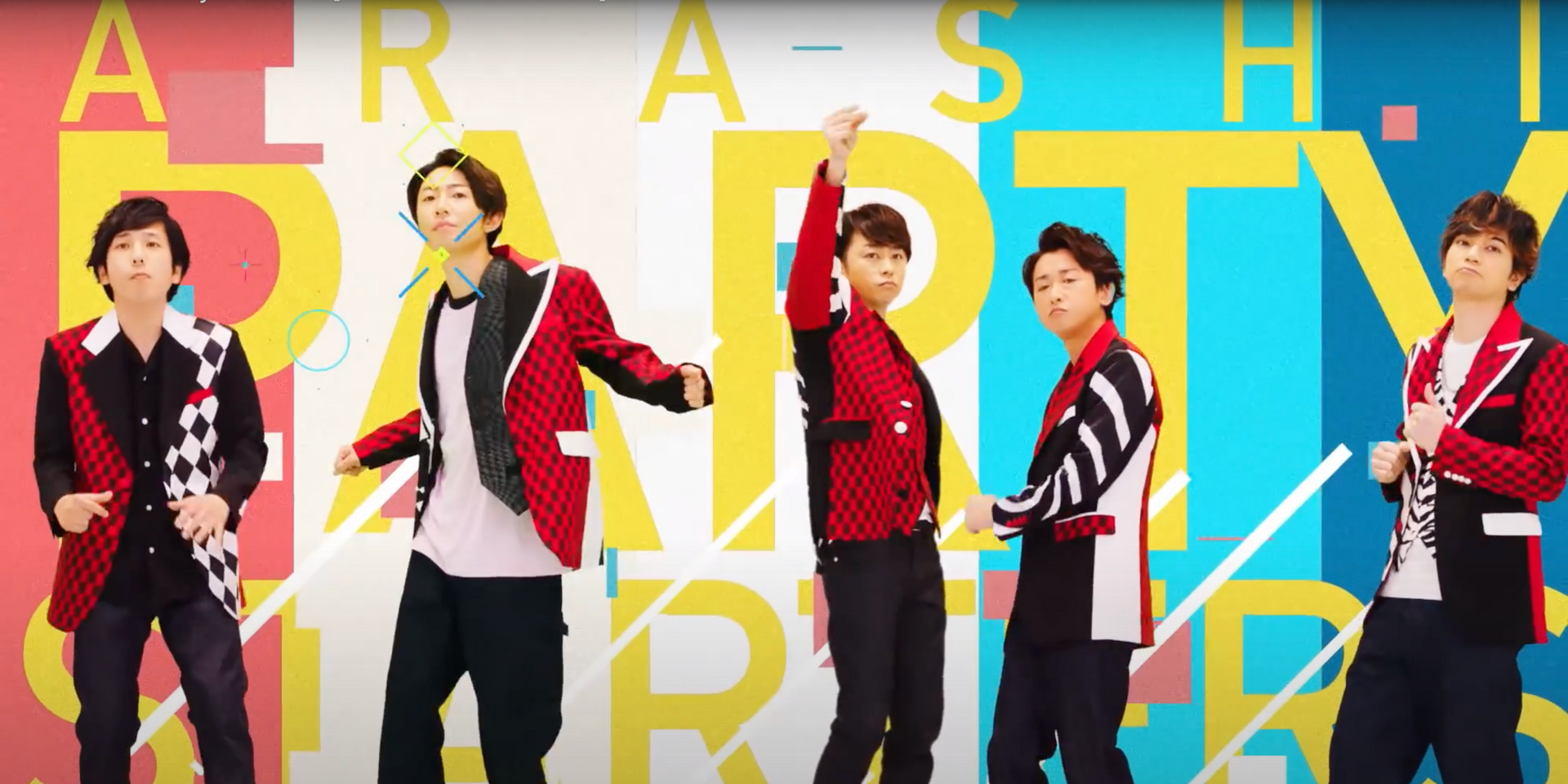 It's time to party hard with ARASHI's new single 'Party Starters' – listen