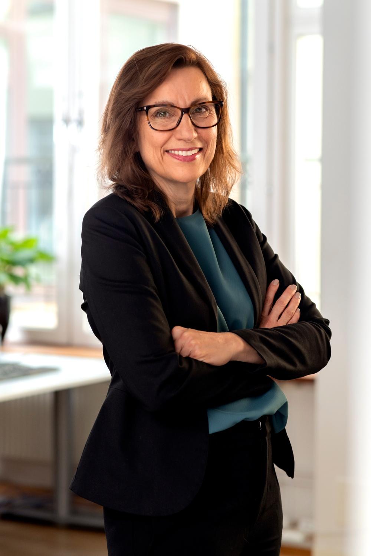 Anita Aspegren är sedan april 2019 vd för IQ Samhällsbyggnad