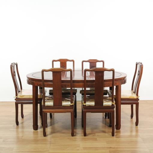 dining set w 6 chairs loveseat vintage furniture san diego los