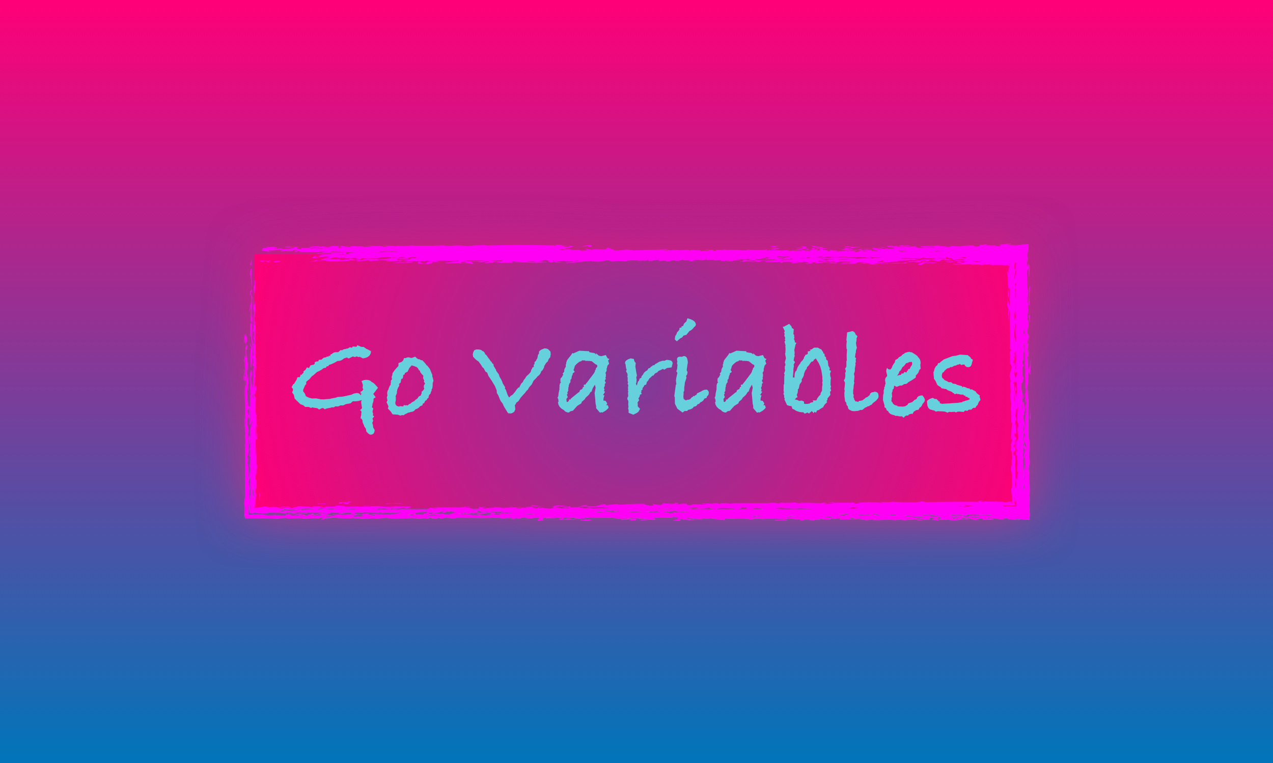 Go Variables - A Visual How-to Guide