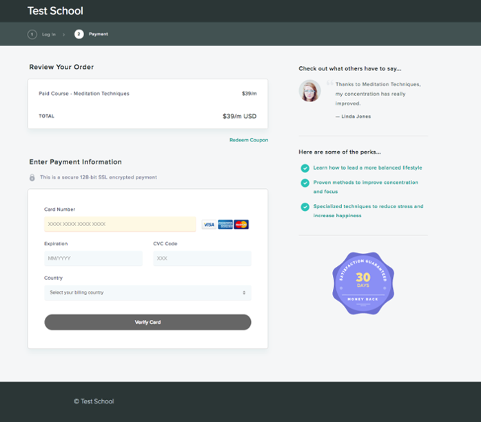 checkout-page-student-view-with-customizations.png
