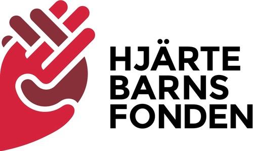 Hjärtebarnsfonden logo