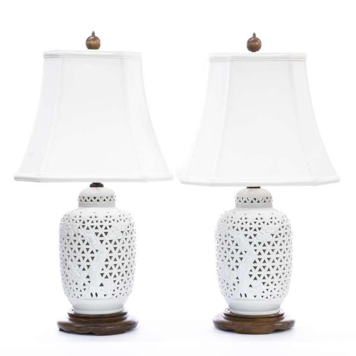 Mid Century Modern Wood Amp White Ceramic Lamp Loveseat