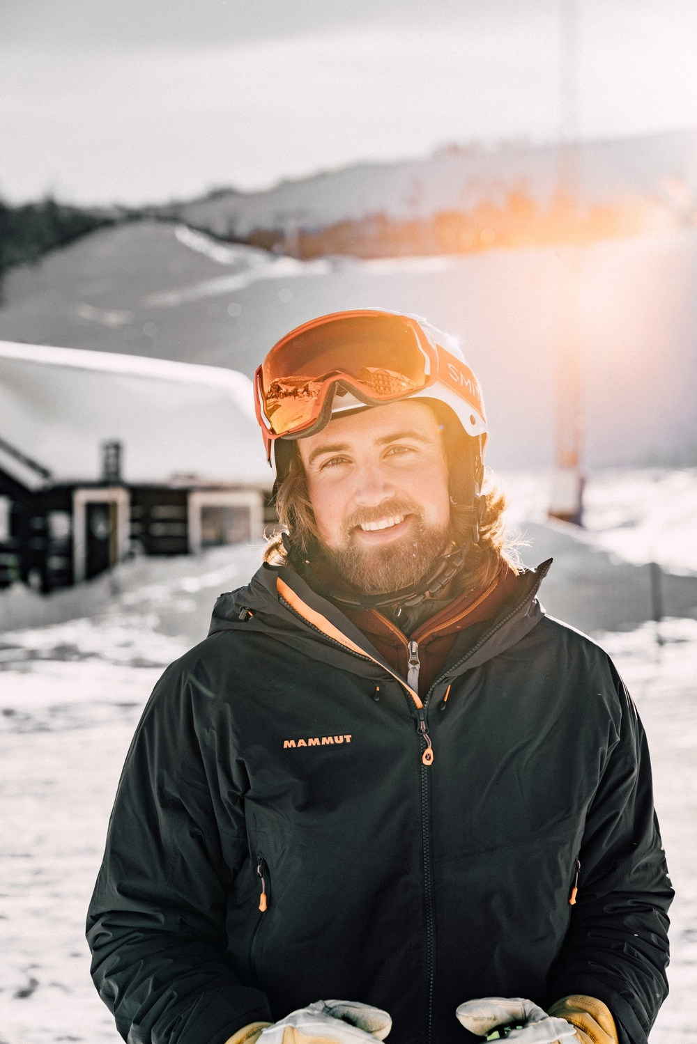 Rasmus Bent, ny anläggningschef i Tänndalen.