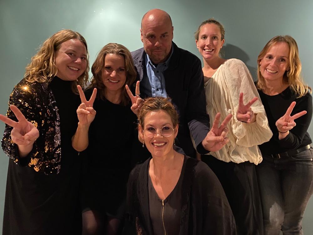Glada vinnare av Årets Hållbarhetsinitiativ 2020 Foto: Axfoundation