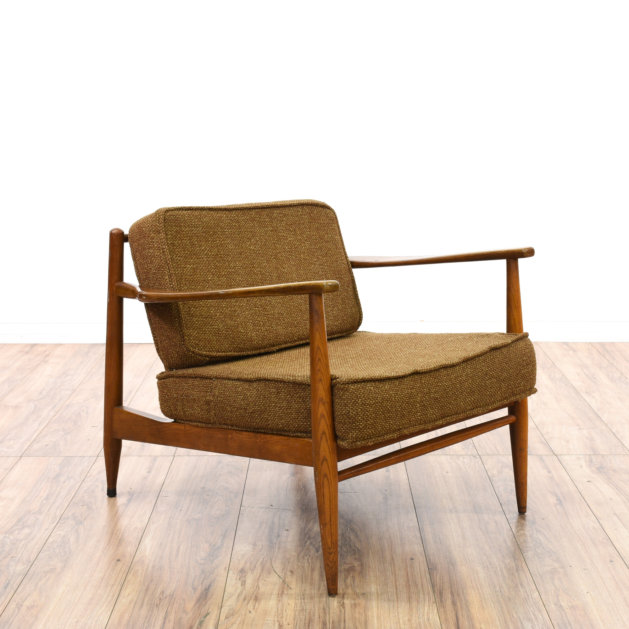 Mid Century Modern Accent Chair Loveseat Vintage